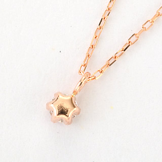 『天然ダイヤモンド0.1ct 18金ネックレス』-3