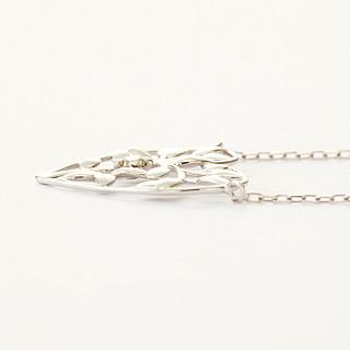 『天然ダイヤモンド0.01ct ハートモチーフ10金ネックレス』-6