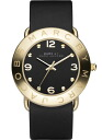 Instant MARC BY MARC JACOBS ( Marc by Marc Jacobs ) ladies watch MBM-1154/MBM1154 AMY (Amy) black / gold black / gold