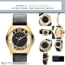 "MARC BY MARC JACOBS ( Marc by Marc Jacobs ) mens Womens Unisex Watch skeleton & book leather belt! Small scratches with ""Henry skeleton' MBM1246/MBM-1246 gold gold"