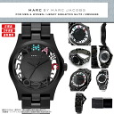 MARC BY MARC JACOBS (mark by MARC BY marc jacobs) Lady's watch (woman business) MBM3265 HENRY SKELETON (Henry skeleton) BLACK/MULTI COLOR (black / black / multicolored)