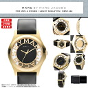 MARC BY MARC JACOBS (mark by MARC BY marc jacobs) Lady's watch (woman business) MBM1246 HENRY SKELETON (Henry skeleton) PEARL GOLD/BLACK (pearl gold / black)