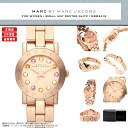 MARC BY MARC JACOBS (mark by MARC BY marc jacobs) Lady's watch (woman business) MBM3219 エイミーディンキークリスタルローズゴールド gold