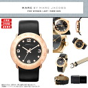 MARC BY MARC JACOBS (mark by MARC BY marc jacobs) Lady's watch (woman business) MBM1225 AMY (Amy) BLACK/PINK GOLD (black / black / pink gold)