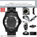 "Skeleton & crystal excellent at MARC BY MARC JACOBS (mark by MARC BY marc jacobs) men's lady's man and woman combined use watch attention degree! Super popular ""Henry's Kel tong Ritz"" comes up! MBM4572/MBM-4572 black"