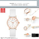 MARC BY MARC JACOBS (mark by MARC BY marc jacobs) Lady's watch (woman business) MBM1284 BAKER (Baker) ROSE GOLD/WHITE (Rose gold / white / white)