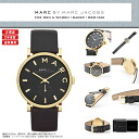 "MARC BY MARC JACOBS (mark by MARC BY marc jacobs) men's lady's man and woman combined use watch extreme popularity yellow gold & real leather white leather! ""BAKER Baker"" of a beautiful design appears! MBM1269/MBM-1269"