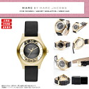 "MARC BY MARC JACOBS ( Marc by Marc Jacobs ) ladies watch skeleton & book leather belt! Super popular ""Henry skeleton' is here! MBM1340/MBM-1340 gold gold"