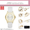 "MARC BY MARC JACOBS ( Marc by Marc Jacobs ) ladies watch skeleton & book leather belt! Super popular ""Henry skeleton' is here! MBM1339/MBM-1339 Gold White"