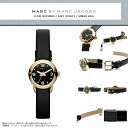 MARC BY MARC JACOBS ( Marc by Marc Jacobs ) ladies watch popular gold x black! Super cute leather leather belt 'DINKY AMY Amy dinky! MBM1254/MBM-1254 gold