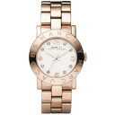 """MARC BY MARC JACOBS (Marc by Marc Jacobs) ladies watch 8 grain Crystal & Pearl character edition pink """"CRYSTAL AMY Amy Crystal"""" for women MBM3077"""