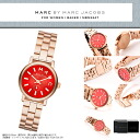 "MARC BY MARC JACOBS (Marc by Marc Jacobs) ladies watch rose gold and Red ""BAKER Baker"" mini MBM3347/MBM-3347 pink"