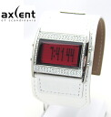 AXCENT OF SCANDINAVIA / LADIE'S WATCH / X2358S-8611 / ZERO / WHITE LEATHER