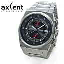AXCENT OF SCANDINAVIA / MEN'S WATCH / X71003-232 / THE BANGER / BLACK×METAL BRACE
