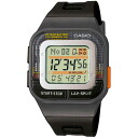 The CASIO (Casio) POP RUNNER (pop runner) Lady's / kids watch (overseas model) SDB100-1A/SDB-100-1A SPORTS GEAR (sports gear) BLACK (black / black) same model: SDB100J-1AJF