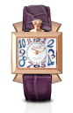 GaGa MILANO ( ガガミラノ ) NAPOLEONE just for a short ) ladies watch 6031.4 (40 MM) PINK GOLD ( pink ) 18 K PVD ( 18 gold plated surface machining ) MOTHER OF PEARL×PURPLE ( mother-of-Pearl x purple ) MADE IN ITALY