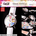 Entering 5020.1 50201 (40MM) GaGa MILANO (ガガミラノ) MANUALE (マヌアーレ) men's / Lady's watch (man and woman combined use) MOTHER OF PEARL X MULTI COLOR X WHITE (mother of pearl X multicolored X white) serial number NO