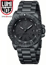 LUMINOX (Lumi Knox) men's watch 3152.BO 3152BO BLACK OUT (blackout) NAVY SEALS (navy Shields) COLOR MARK (color mark)