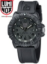 LUMINOX MEN'S U.S. NAVY SEALs DIVE WATCH  COLOR MARK SERIES 3051.BO BLACKOUT