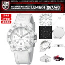 LUMINOX MEN'S WATCH NAVY SEAL COLORMARK SERIES 3057.WO WHITE OUT
