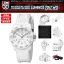 LUMINOX COLOR MARK SERIES LADY'S WATCH 7057 WO WHITE OUT