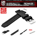 LUMINOX / FN.3050.20 / BELT WIDTH 22mm / ORIGINAL REPLACEMENT BAND / RUBBER / BLACK / 3000,3040,3050,3080,8400 SERIES
