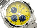 SEIKO (SEIKO) men's watch (overseas model) SND409P/SND-409P (chronograph) WR.50M (50M waterproofing) YELLOW (yellow) JAPAN MOVEMENT (movement made in Japan)