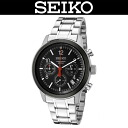 SEIKO / MEN'S WATCH / SSB011P1 / CHRONOGRAPH / 100M WATER RESISTANT / STAINLESS BELT / BLACK
