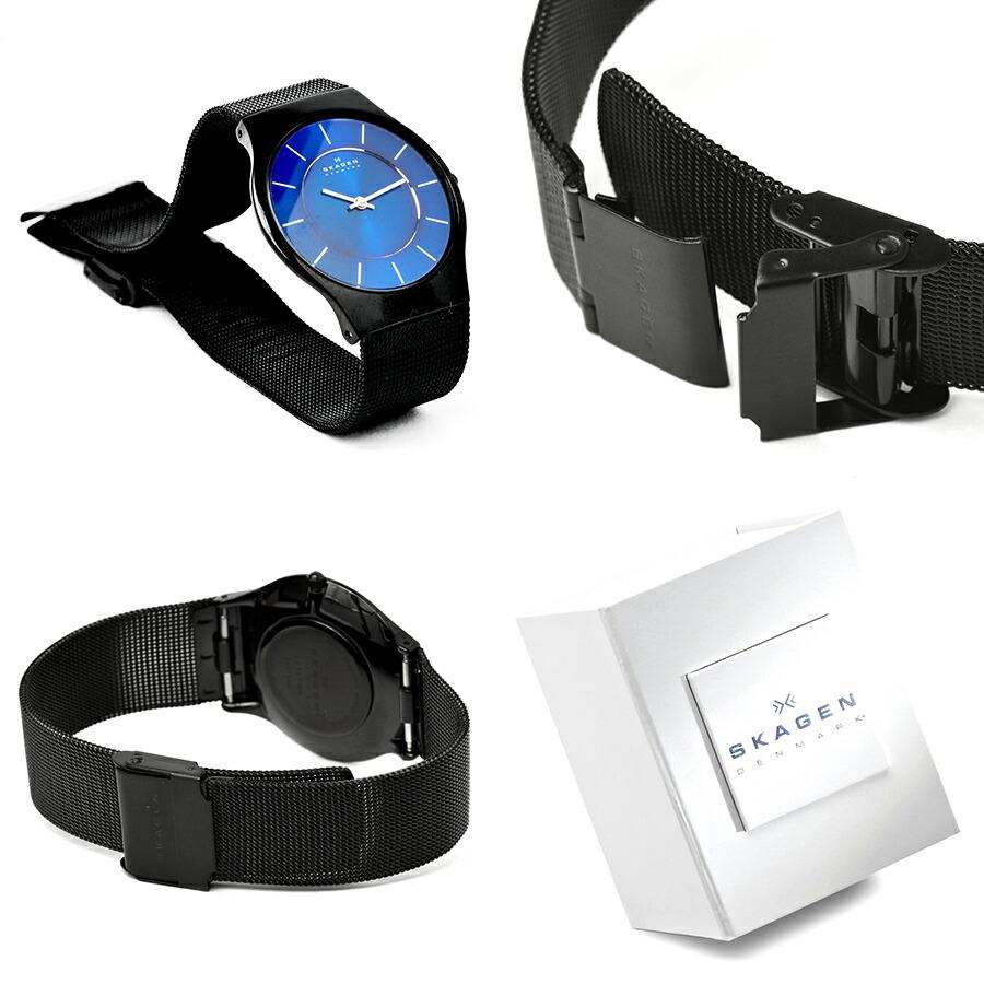 SKAGEN スカーゲン 超薄型 北欧 デザイン ウォッチ 腕時計 おしゃれ かっこいい プレゼント