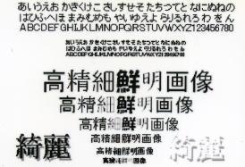 純正インク 印字サンプルC