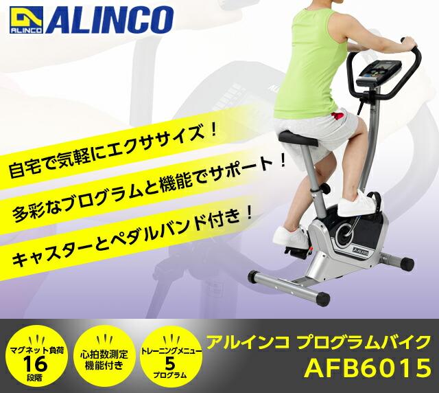 ALINCO(アルインコ)プログラムバイク AFB6015