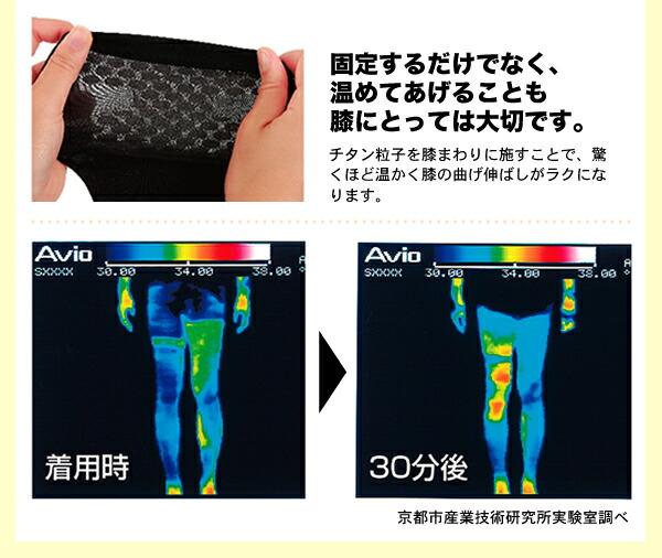 固定するだけでなく、温めてあげることも膝にとっては大切です。