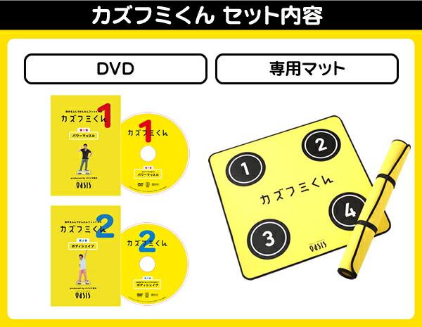 DVD2枚と専用マットのセット
