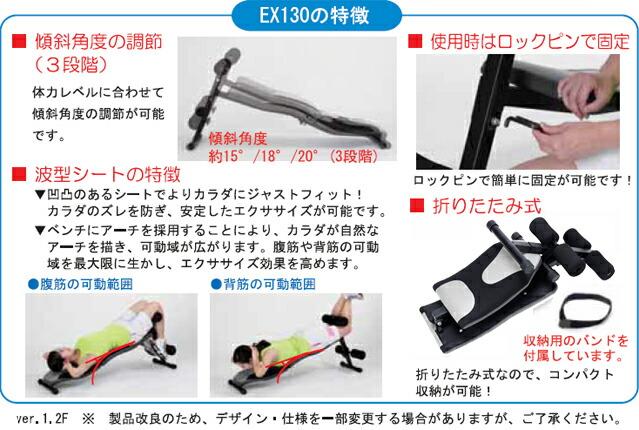 EX130の特徴