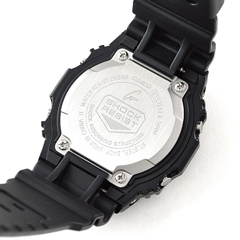 カシオ Gショック G-LIDE Gライド ブラック×ブラック  GLX-5600-1JF メンズ