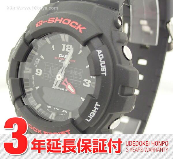 カシオ Gショック  G-100-1B メンズ