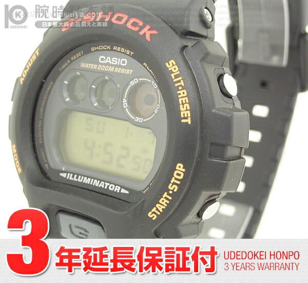 カシオ Gショック トリグラフ DW-6900G-1V メンズ