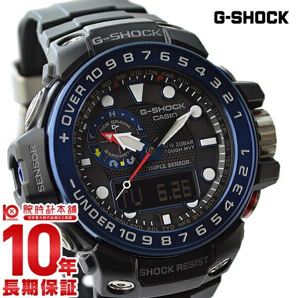 カシオ Gショック ソーラー電波 GWN-1000B-1BJF メンズ