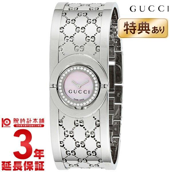 グッチ 112シリーズ THE TWIRL 34Pダイヤモンド YA112514 レディース
