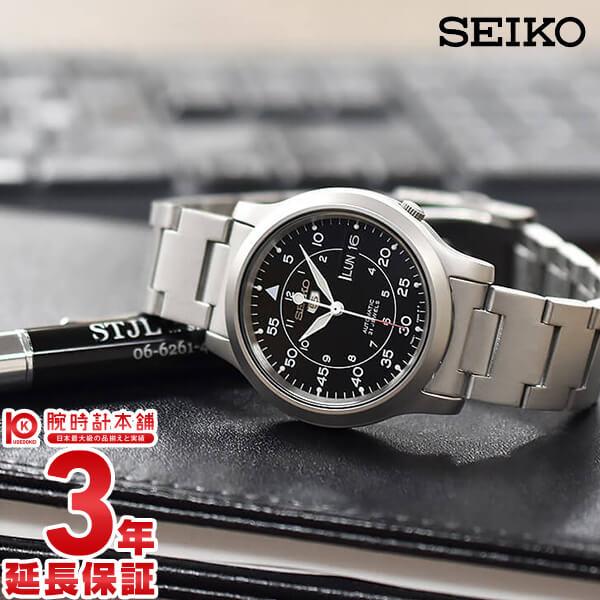 セイコー5 逆輸入モデル 機械式(自動巻き) SNK809K1 メンズ