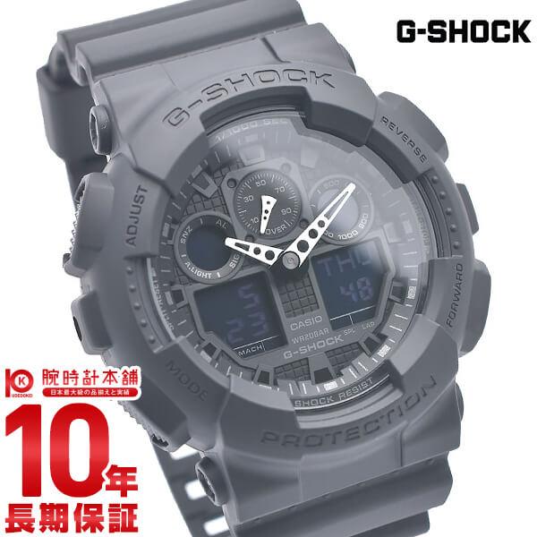 カシオ Gショック STANDARD GA-100-1A1JF メンズ