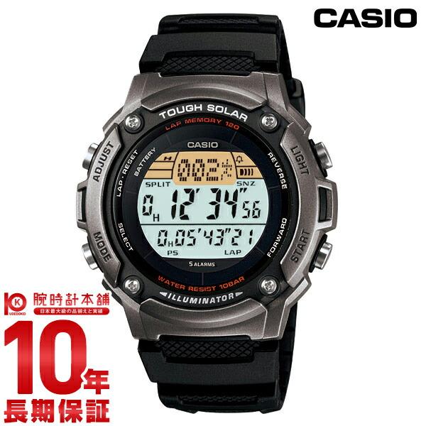 カシオ スポーツギア ソーラー W-S200H-1AJF メンズ