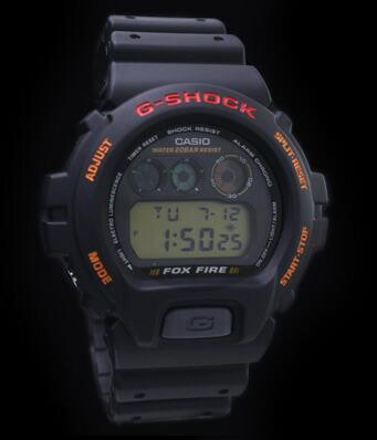 カシオ Gショック STANDARD BASIC FOX FIRE DW-6900B-9 メンズ