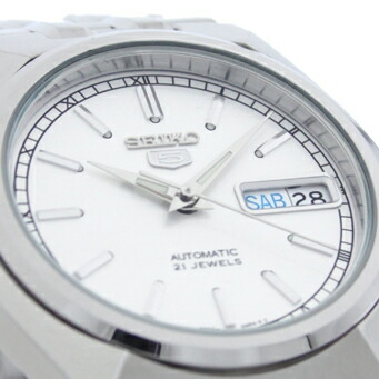 セイコー5 逆輸入モデル 機械式(自動巻き) SNK299K1 メンズ