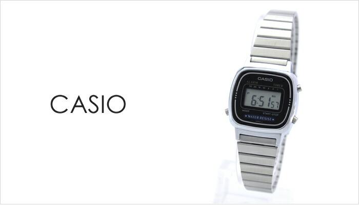 カシオ  LA670WA-1UW レディース