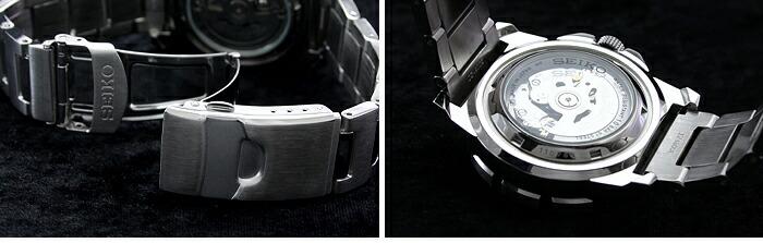 セイコー5 逆輸入モデル 5スポーツ 100m防水 機械式(自動巻き) SNZF47J1 メンズ