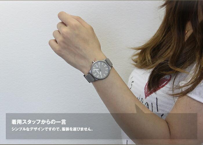 怎么莱克斯[haurex]6k378dgg女士/深灰色表手表#小型表101869