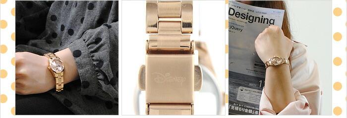 ディズニー 腕時計本舗限定モデル WW06715MI レディース