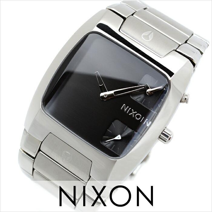 ニクソン バンクス BLACK A060-000 メンズ