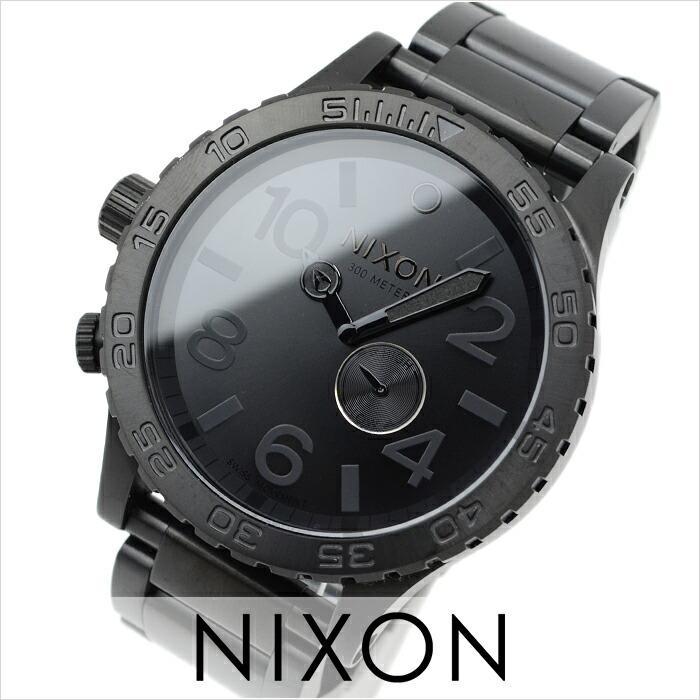 ニクソン THE51-30 オールブラック A057-001 メンズ